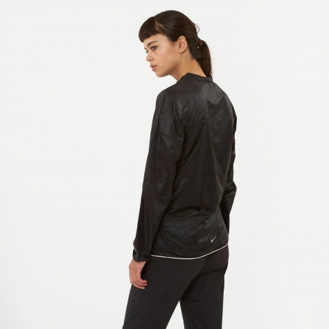 Packable Jacket - Black/Black/Light O