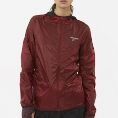 Nike x Undercover Gyakusou Packable Jacket - Dark Team Red/Dark