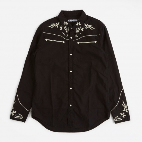 Nashville Shirt LS - Black