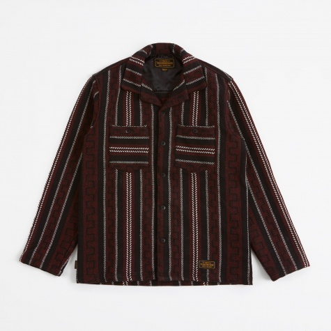 Weaving Shirt LS - Red