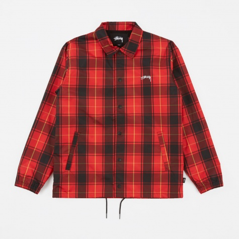Cruize Coach Jacket - Red