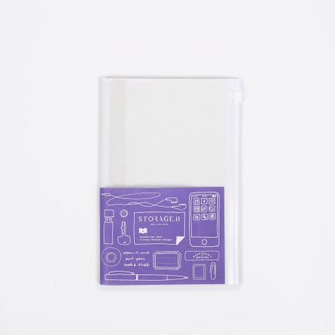 STORAGE.IT Notebook Small - Solid White