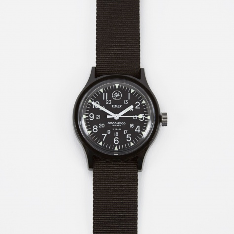 x Goodhood Anniversary MK1 Watch - Black/Black