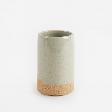 Ceramic Vase 'Slim' Small - Simply Taupe