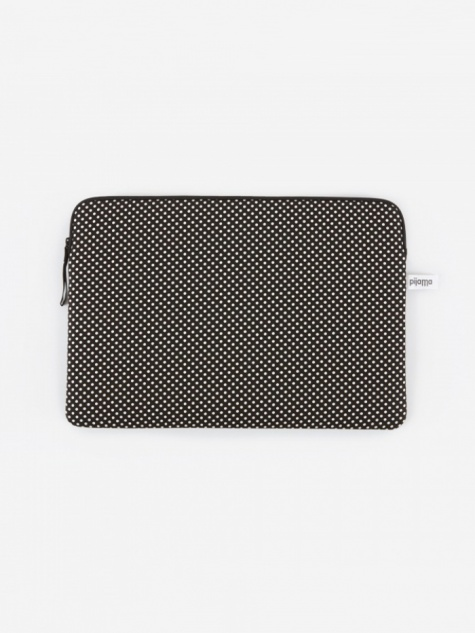 "Zip Case for MacBook Air / 13"" Laptop - Dotty Small Black"