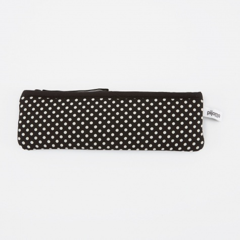 Pencil Pocket - Dotty Small Black