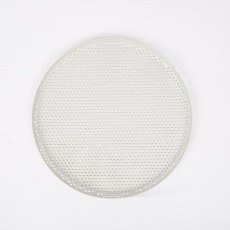Perforated Tray Large - Soft Grey