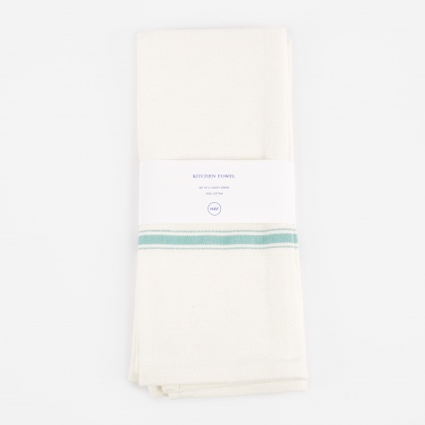 Kitchen Towel Set of 2 - Dusty Green