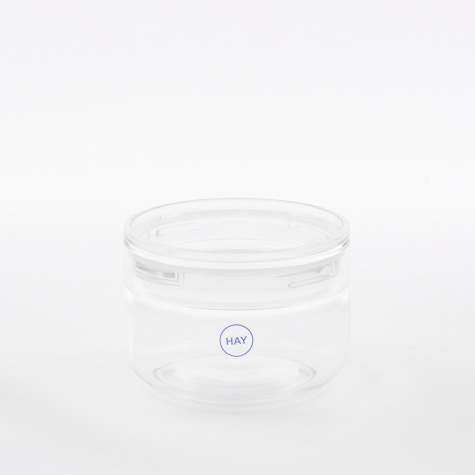 Japanese Glass Jar Small - Clear