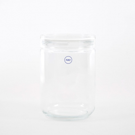Japanese Glass Jar Large - Clear