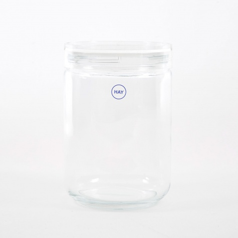 Japanese Glass Jar Extra Large - Clear