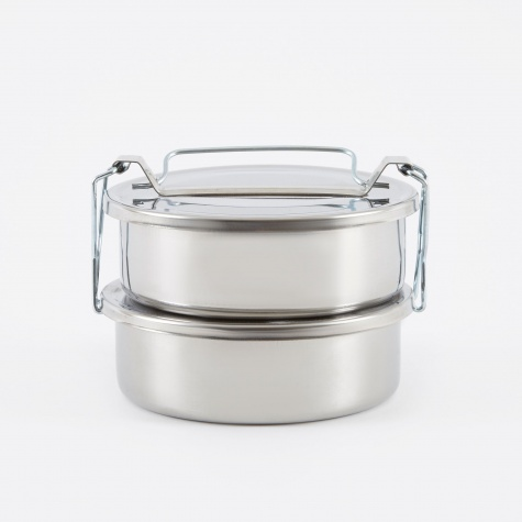 Picnic Container Small - Stainless Steel