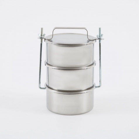 Picnic Container Large - Stainless Steel