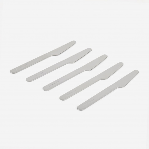 Everyday Knife Set of 5 - Polished Stainless Steel