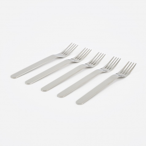 Everyday Fork Set of 5 - Polished Stainless Steel