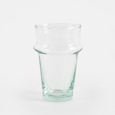Moroccan Handblown Glass Small - Clear