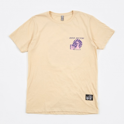 Gong Sounds SS T-Shirt - Creme