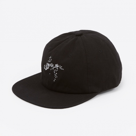 Cosmidelic Embroidered Cap - Black