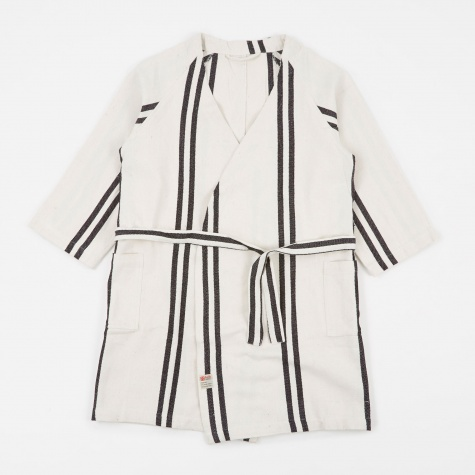 Bath Robe - Narrow Stripe