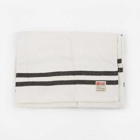 Cotton Bath Towel Large - Narrow Stripe