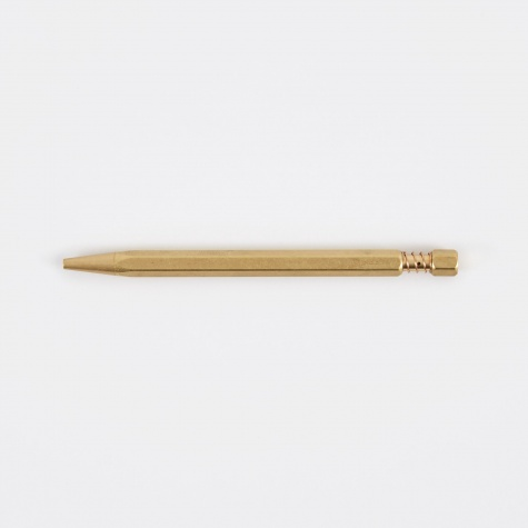 Ballpoint Twist Pen - Brass
