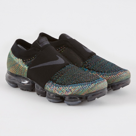 Wmns Air Vapormax FK Moc Shoe - Black/Anthracite-Volt-Hot P