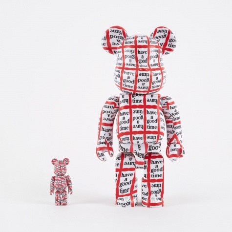 Medicom Toy Have A Good Time Bearbrick 100% & 400%