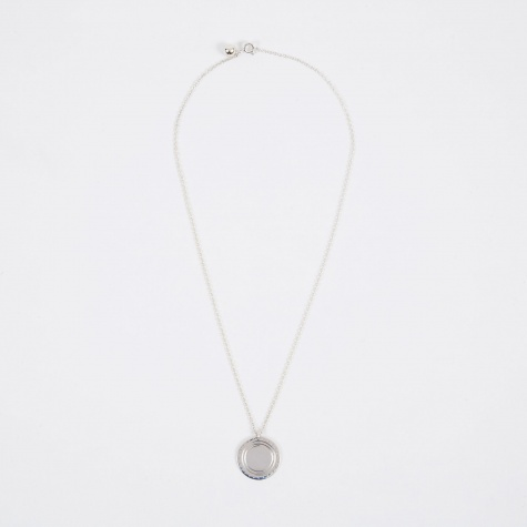 Logo Necklace - Sterling Silver