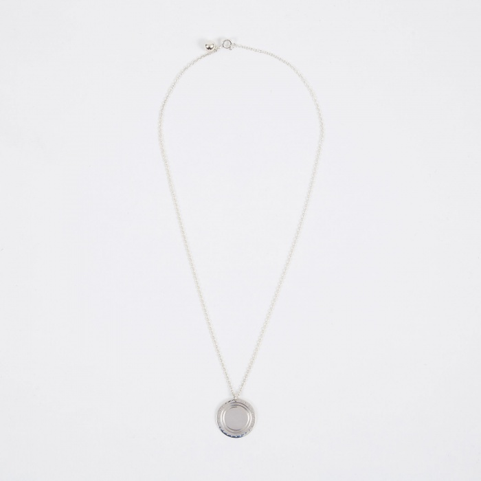 Trine Tuxen Logo Necklace - Sterling Silver (Image 1)