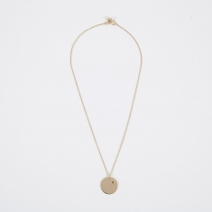 Trine Tuxen Jan Birthstone Necklace - 14K Gold Plated