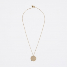 Trine Tuxen Feb Birthstone Necklace - 14K Gold Plated