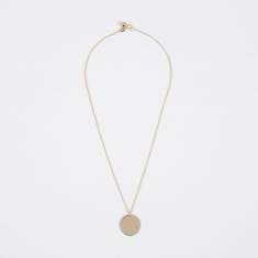 Trine Tuxen March Birthstone Necklace - 14K Gold Plated