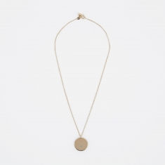 Trine Tuxen May Birthstone Necklace - 14K Gold Plated