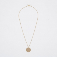 Trine Tuxen August Birthstone Necklace - 14K Gold Plated