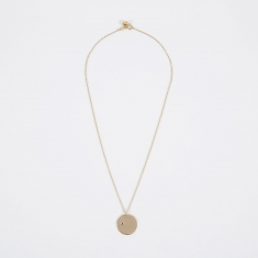 Trine Tuxen Nov Birthstone Necklace - 14K Gold Plated