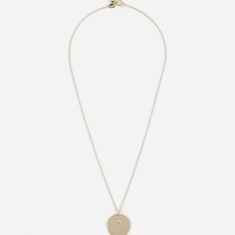 Trine Tuxen Dec Birthstone Necklace - 14K Gold Plated