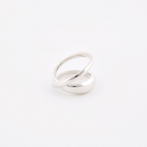 Loop Ring - Sterling Silver