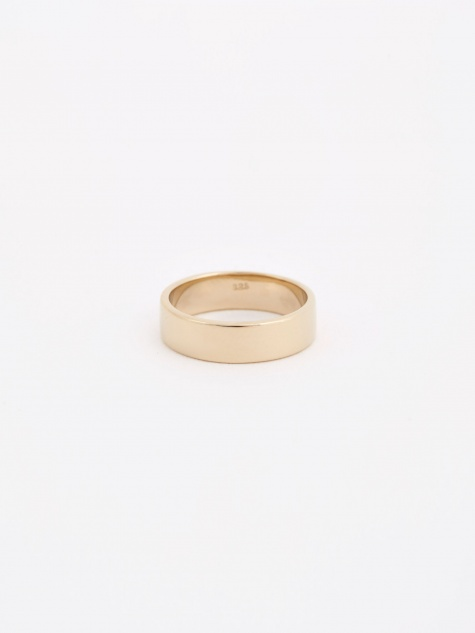 Plain Ring - 14K Gold Plated