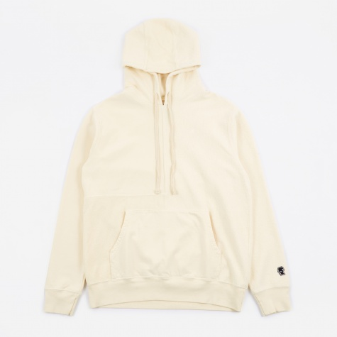 Paneled Hoody - Lemon