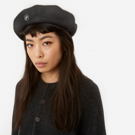Beret - Dark Grey Marl