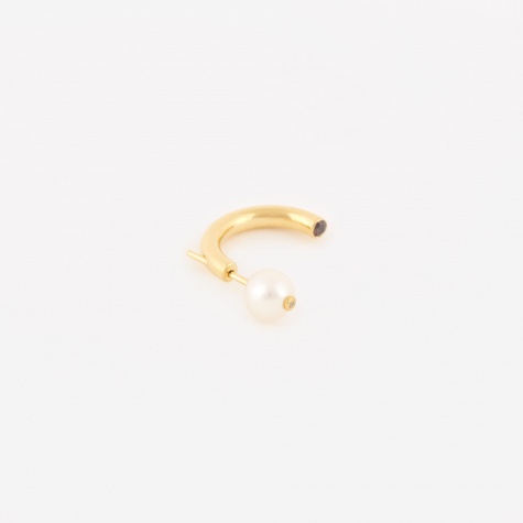 Elly Pearl Single Earring - 14K Gold Plated