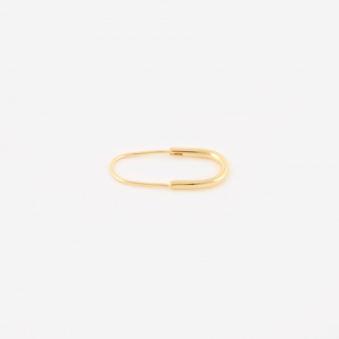 Chance Mini Single Earring - 14K Gold Plated
