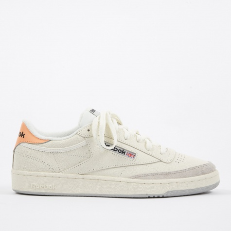 Club C 85 FT - Chalk/Sunbaked Orange/Skull Grey/Black