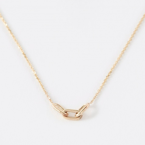 Link Chain Necklace - 14K Yellow Gold