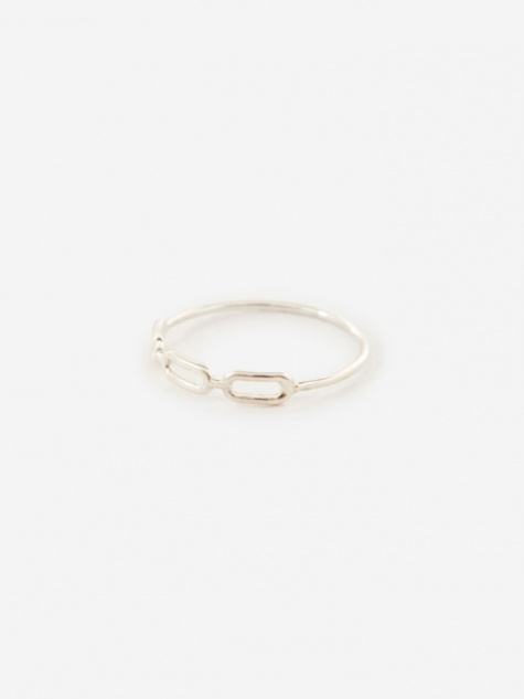 Link Ring - 925 Sterling Silver