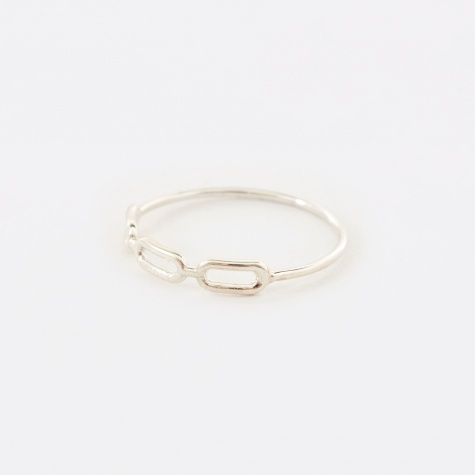 Link Ring - Sterling Silver