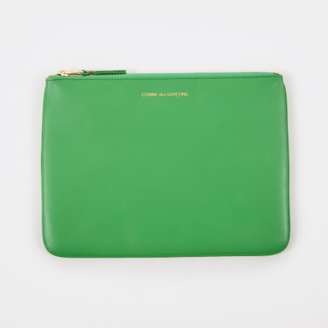 Comme Des Garcons Wallet Classic Leather W (SA5100) - Green