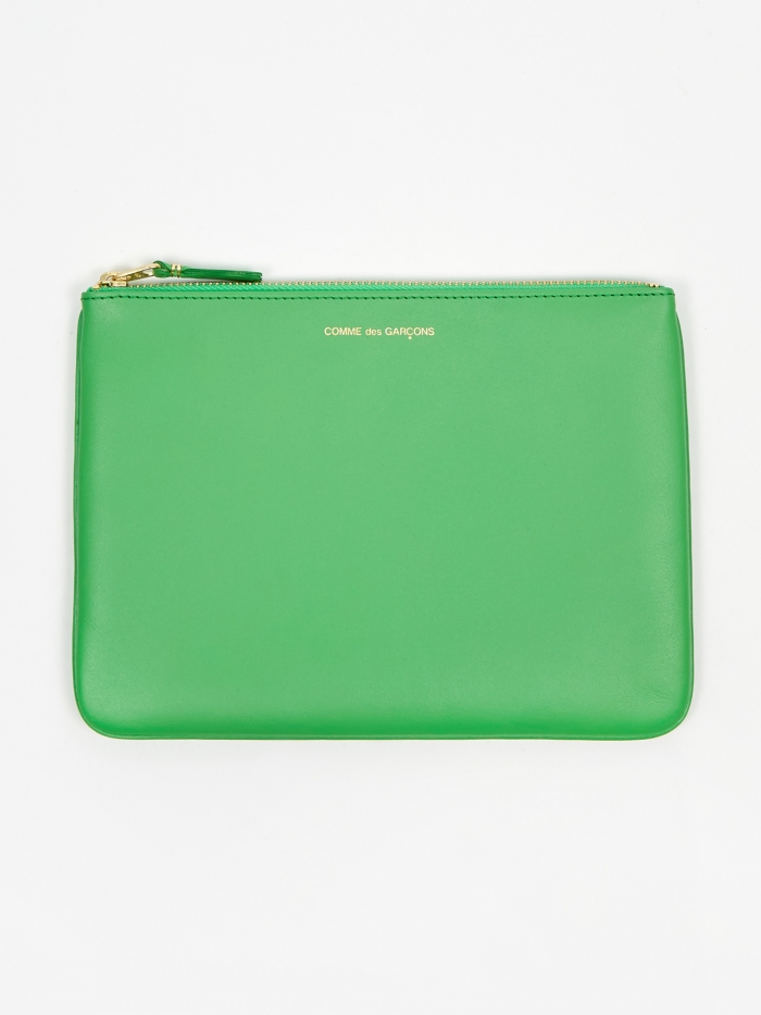 Comme des Garcons Wallets Classic Leather W (SA5100) - Green (Image 1)