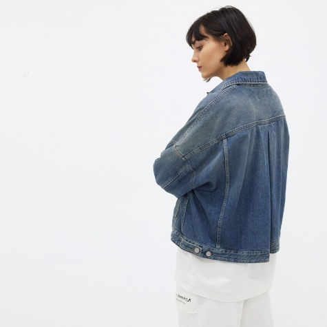 MM6 Denim Jacket - Indigo Stone Wash