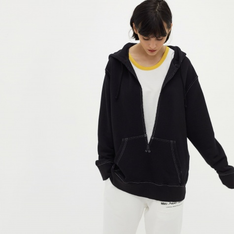 MM6 French Terry Sweat - Black